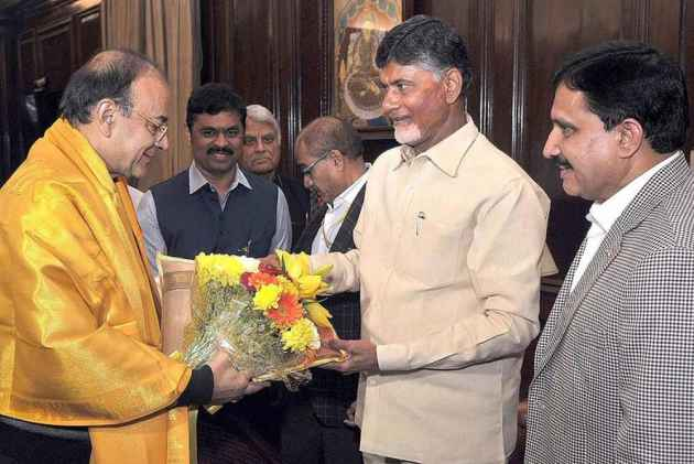 Is Naidu really serious or playing drama?
