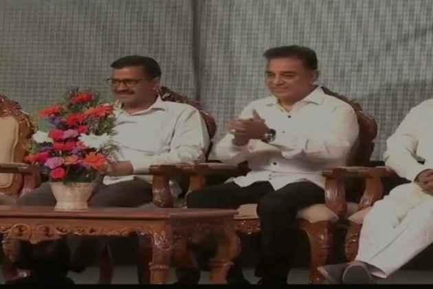 Kamal Haasan Launches Political Party, Names It 'Makkal Needhi Maiam'