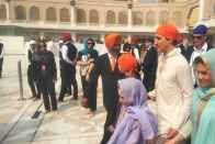Canadian PM Trudeau Arrives In Amritsar, To Meet CM Amarinder Singh