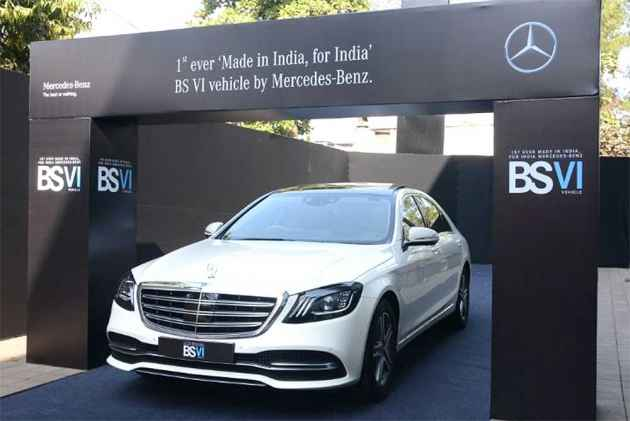 Mercedes-Benz launches enhanced version of S-Class