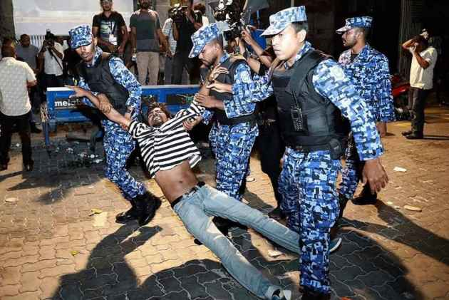 China wants Maldives crisis to be solved by dialogue
