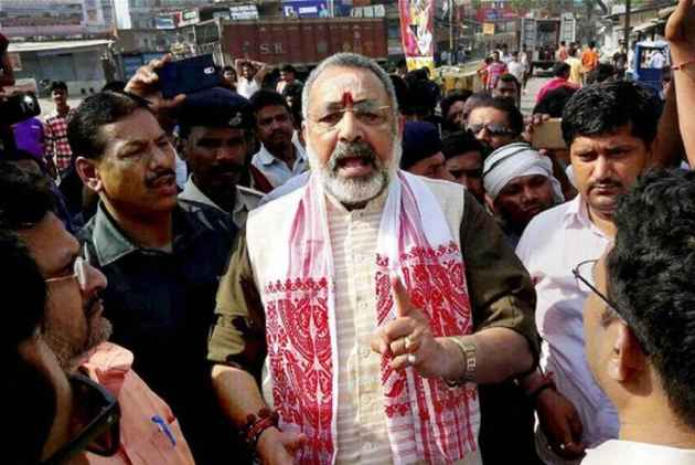 FIR registered against Giriraj Singh