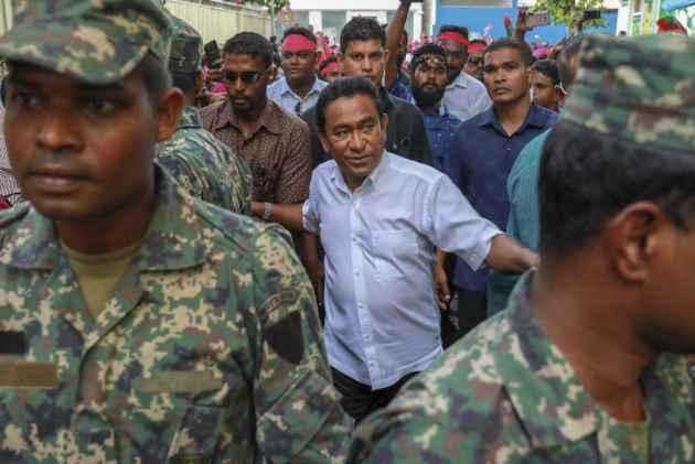 India rejected Maldives President Abdulla Yameen's special envoy's visit to discuss crisis
