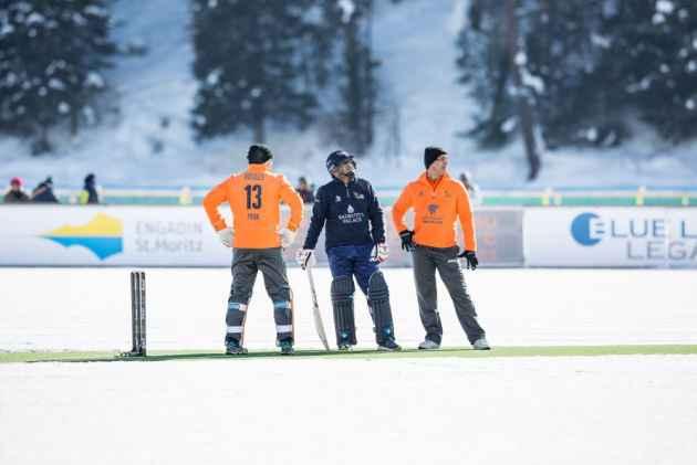 Sehwag Scores First Half-Century On Frozen Lake In Switzerland