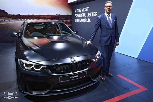 BMW M3 Sedan And M4 Coupe Launched At Auto Expo 2018