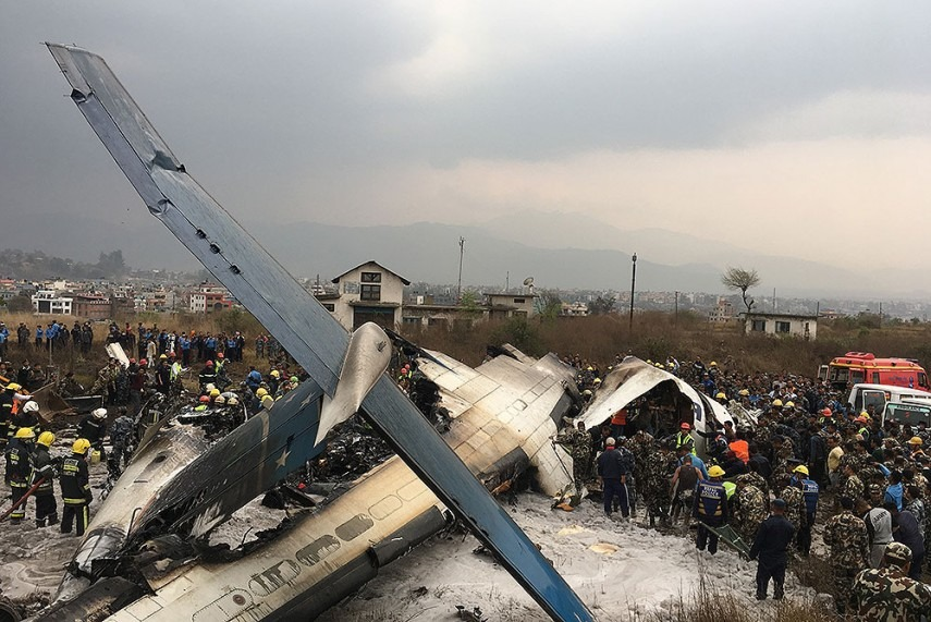 US-Bangla Airlines' Flight Carrying 71 Crashes At Kathmandu Airport, 50 Dead