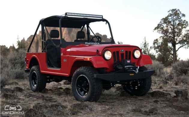 Mahindra Roxor Off-Roader unveiled in USA