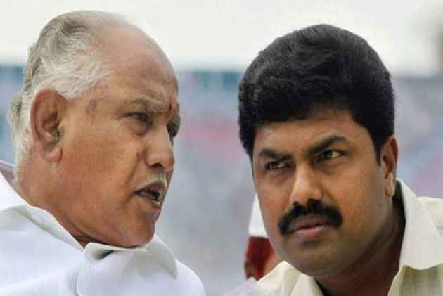 Yeddyurappa says son won't contest from Varuna, BJP workers protest