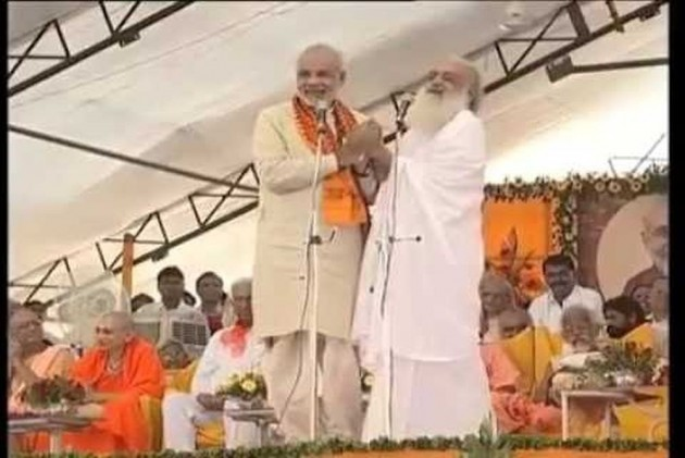 Congress uses Asaram to attack PM Narendra Modi