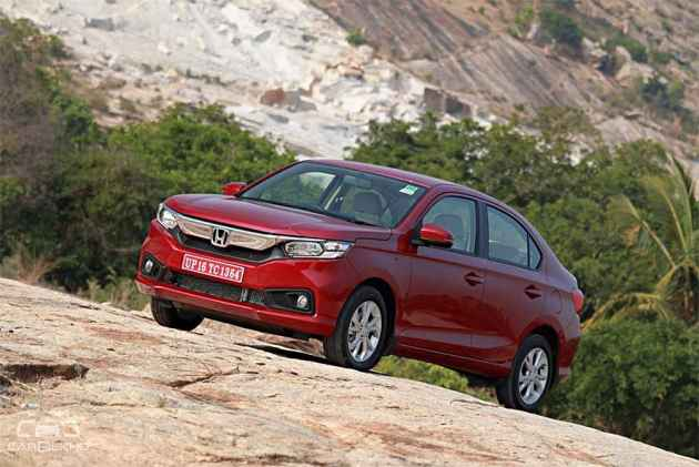 Honda Amaze 2018 Review: In Pictures