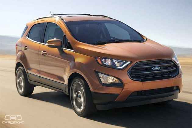 sportier ford ecosport s with sunroof to launch in may 2018. Black Bedroom Furniture Sets. Home Design Ideas