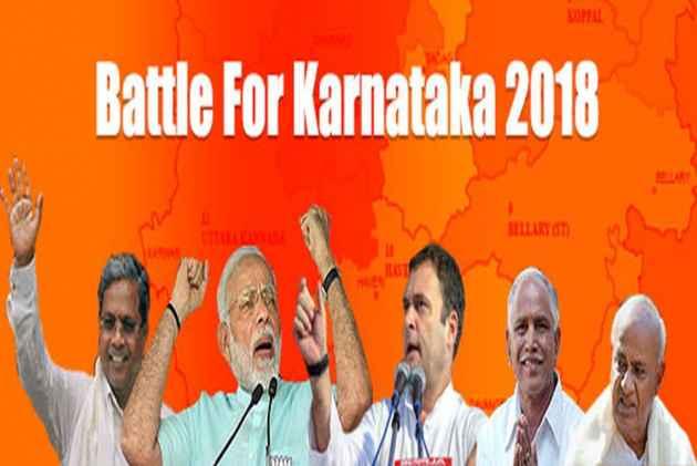 Karnataka:BJP, Cong-JD(S) Meet Guv To Stake Claim To Form Govt