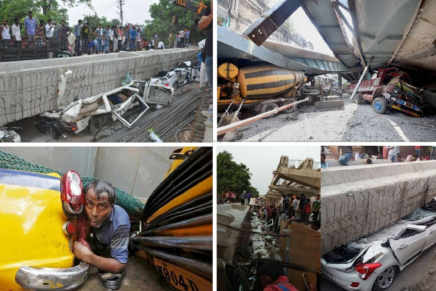 18 Killed In Varanasi Flyover Collapse: 10 Similar Tragedies That Rocked India
