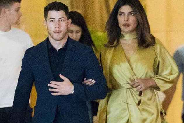 Priyanka Chopra arm in arm with Nick Jonas