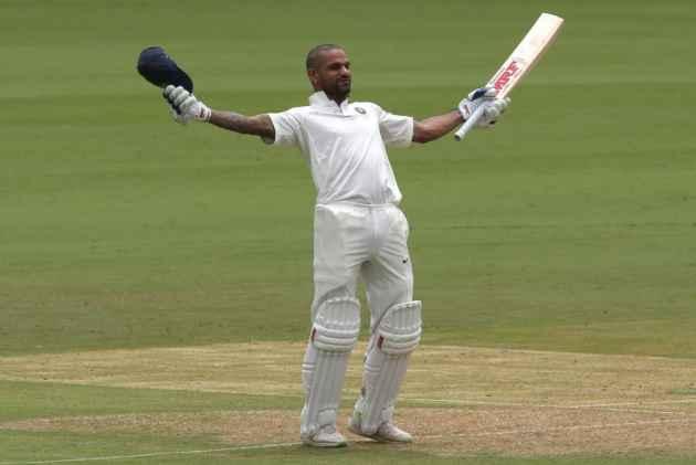 Vijay, Dhawan Tons Take India To 347/6 Against Afghanistan