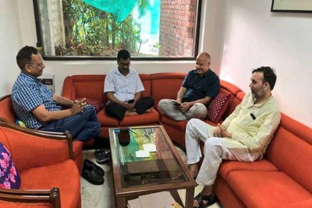 Arvind Kejriwal Urges PM Modi To Intervene To End IAS Officers' Strike