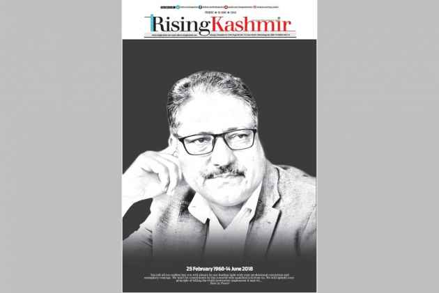 Journalist Shujaat Bukhari Shot Dead In Kashmir