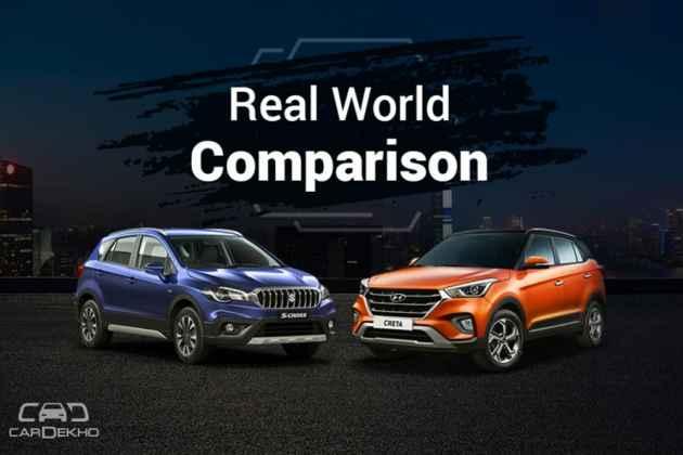 Maruti S-Cross Vs Hyundai Creta: Real-World Performance And Efficiency Comparison