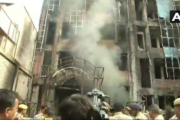 Watch: Fire At Two Hotels In Lucknow Kills 4, Over 50 Rescued