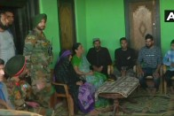 Defence Minister Nirmala Sitharaman Visits Family Of Slain Soldier Aurangzeb In Poonch