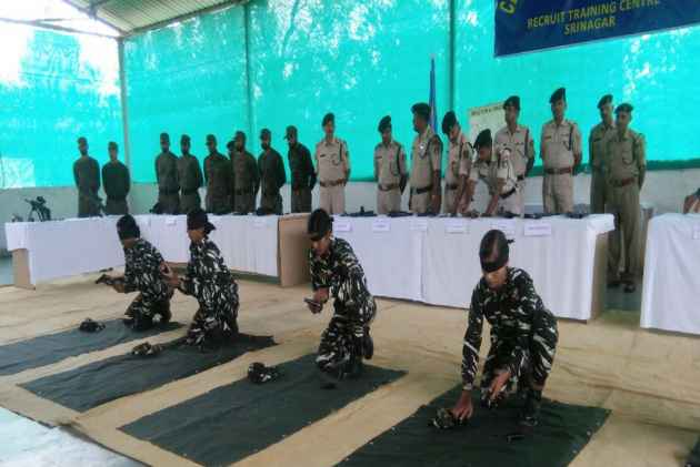 CRPF Women Commandos Prepared To Deal With Stone Pelters