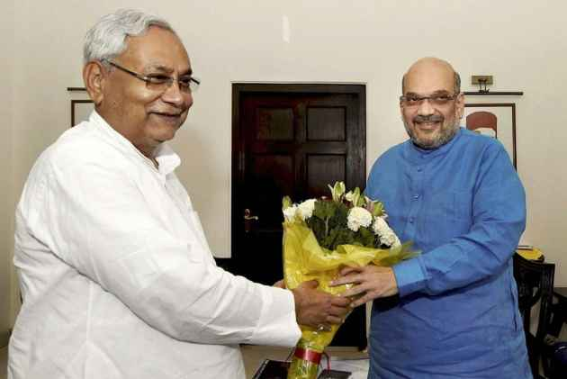 Amit Shah Meets Nitish Kumar, Likely To Discuss 2019 Seat-Sharing