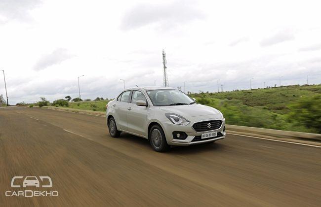 Maruti Dzire Top Selling Sub-4m Sedan In June 2018; Honda Amaze, Tata Tigor Sales Fall