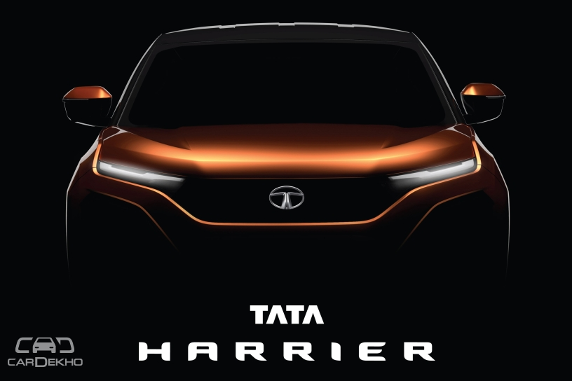 Official: H5X Concept To Launch As Tata Harrier; Will Rival Hyundai Creta, Jeep Compass