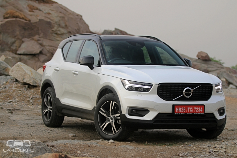 volvo xc40 brochure with momentum inscription variants surfaces online. Black Bedroom Furniture Sets. Home Design Ideas