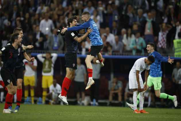 Mandzukic Breaks England Hearts, Fires Croatia Into World Cup Final