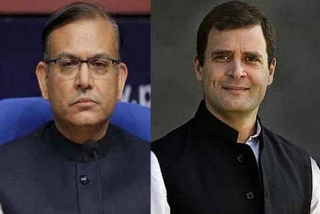 Stung By 'Disgust' Remark, Jayant Sinha Dares Rahul Gandhi To 'Live Debate'