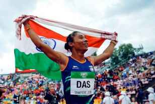 Hima Das To Be Made First Sports Ambassador Of Assam, Says CM