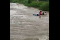 Watch: Locals Rescue Family Trapped In Submerged Car In Navi Mumbai