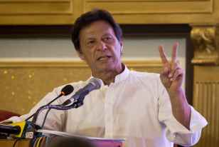 Pakistani Cleric On US Terror List Extends Support To Imran Khan's Party