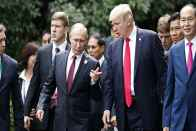 Would Hold Putin Personally Responsible For US Poll Meddling: Trump