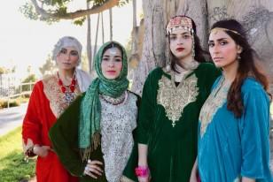 How Kashmiri Pheran Is Making A Fashion Statement On A California Beach