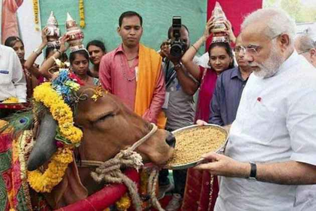 PM Modi gifts cows to 200 families in Rwanda
