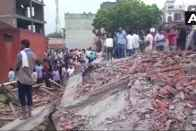 Building Collapses Near Missal Gadi, Ghaziabad, Several Feared Dead