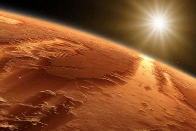 Massive Underground Lake Of Liquid Water Detected On Mars