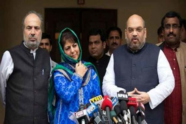 Minus Mehbooba, Is BJP Trying To Form Govt With 'Breakaway' PDP?