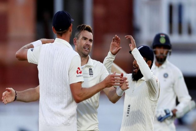 India Vs England: James Anderson Picks A Fiver As England Bundle Out India For 107 In Rain-Hit Lord's Test