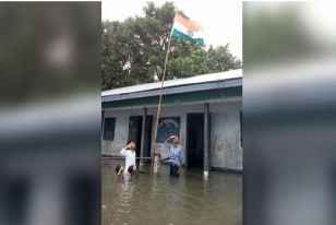 Assam Boy Who Saluted Tricolour In Chest-Deep Flood Water Missing From NRC Draft