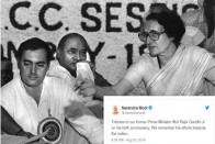'Rajiv Gandhi's Efforts For Nation Will Be Remembered', PM Modi Tweets On Birth Anniversary