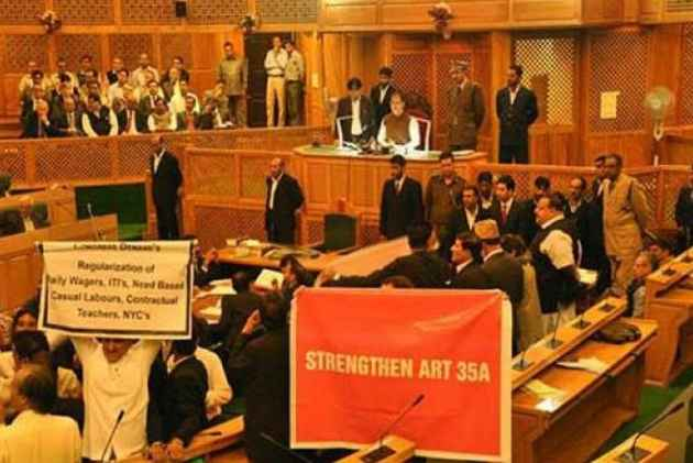 Neither Centre Nor State Has Yet Filed Counter To Petitions Challenging Article 35A