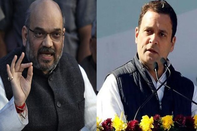 'Check Facts When Done Winking': Amit Shah Hits Back At Rahul Gandhi For Calling PM Modi 'Anti-Dalit'