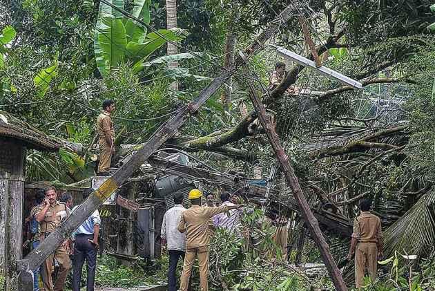 20 Dead In Floods, Landslides In Kerala Following Heavy Rains