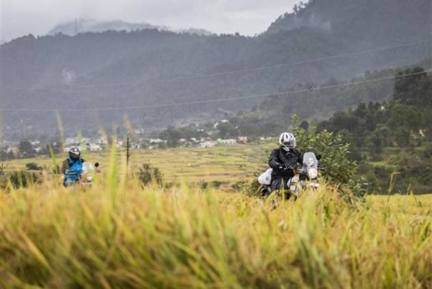 Royal Enfield Tour Of Uttarakhand Flagged Off