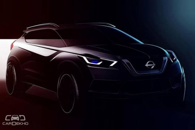 Nissan Releases Sketches Of India-spec Kicks SUV