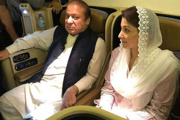 Nawaz Sharif, Daughter In Lahore To Attend Kulsoom Nawaz's Funeral