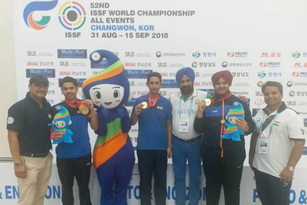 India Win Two More Gold At Shooting World Championship, Finish Third Overall